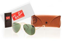 Солнцезащитные очки, Ray Ban Original 3026D-green-g