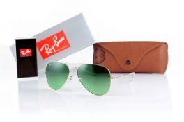 Солнцезащитные очки, Ray Ban Original 3025green-gold